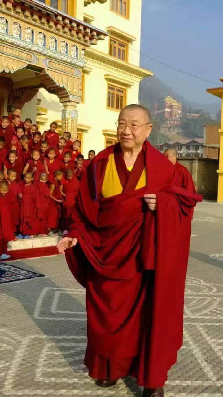 Gosok Rinpoche India 2017 85ae679b9ce5b1bce12152835b3ad00