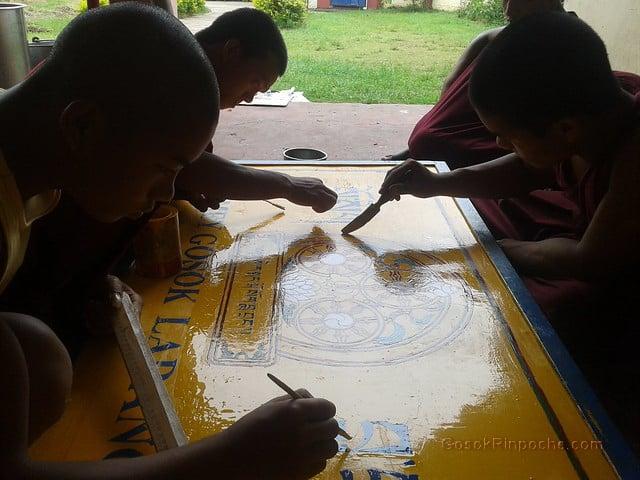 Gosok Ladang 2012-05-29 Painting Street Sign 35