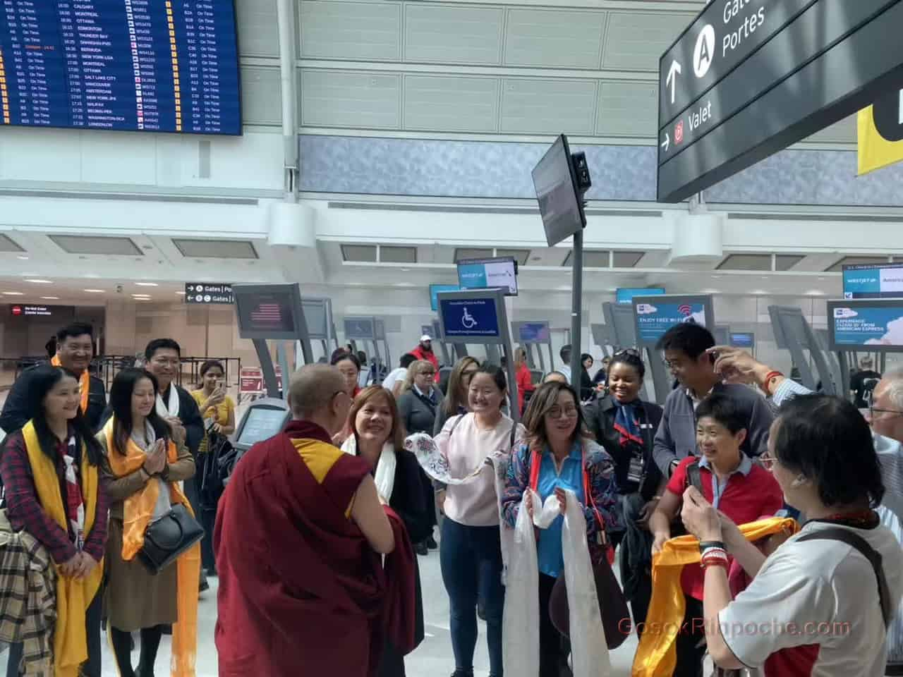 Gosok Rinpoche Leaving Toronto 20190926184223