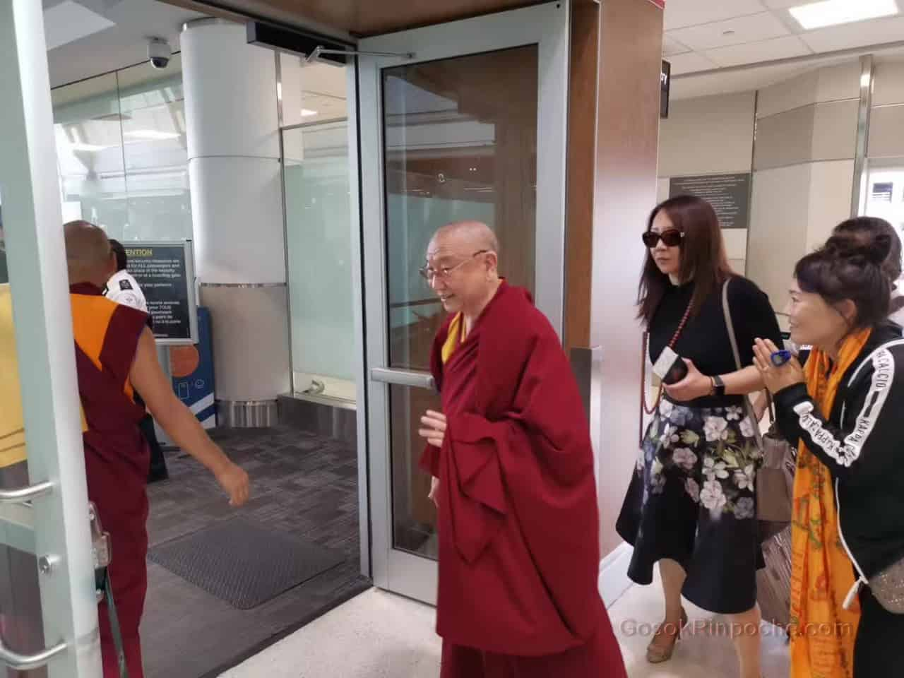 Gosok Rinpoche Leaving Toronto 20190926184703