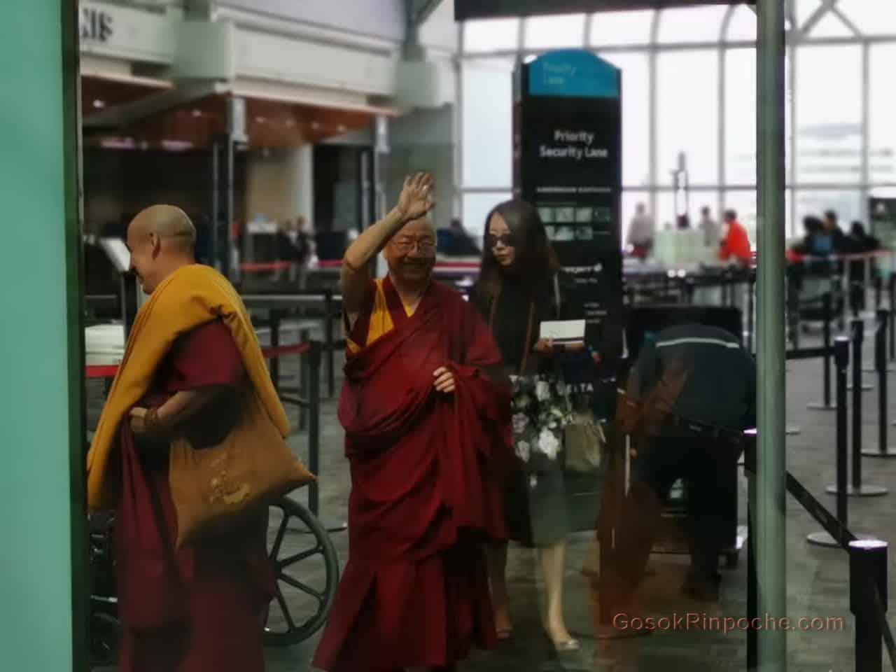 Gosok Rinpoche Leaving Toronto 20190926184708