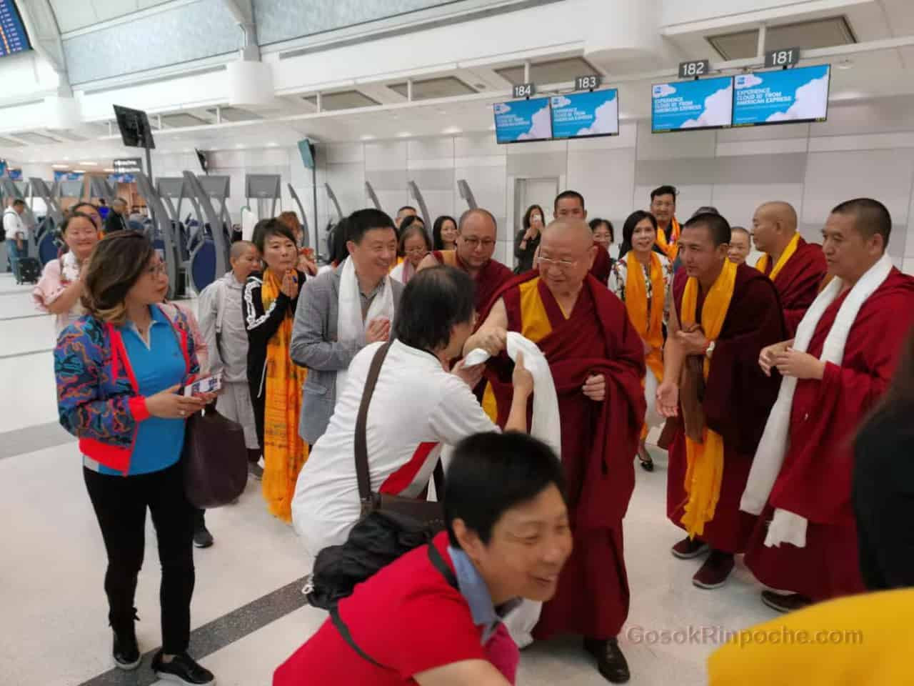 Gosok Rinpoche Leaving Toronto 20190926185129