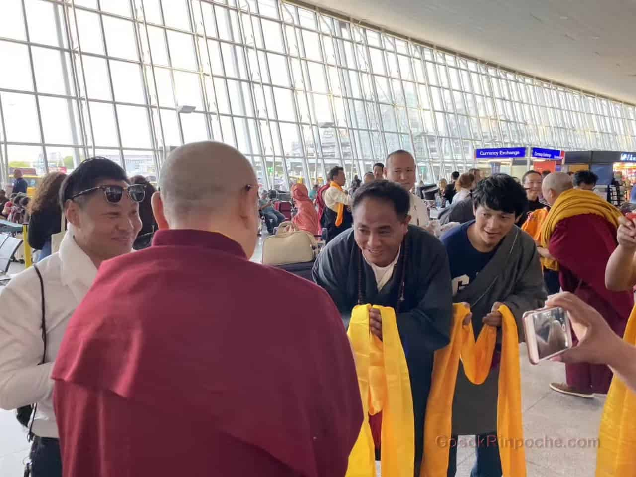 Gosok Rinpoche NYC airport 20190926184804