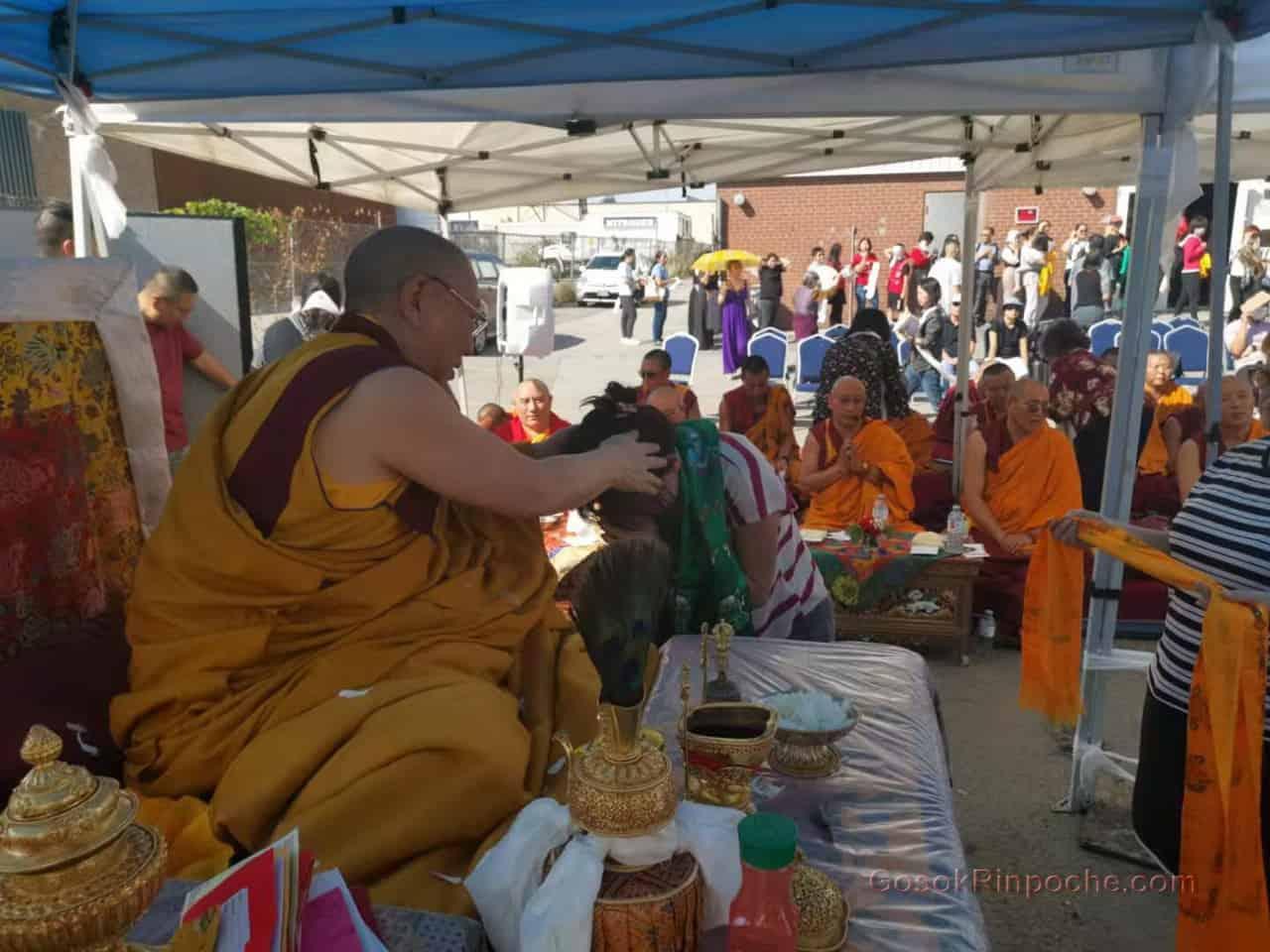 Gosok Rinpoche fire puja 20190923122624