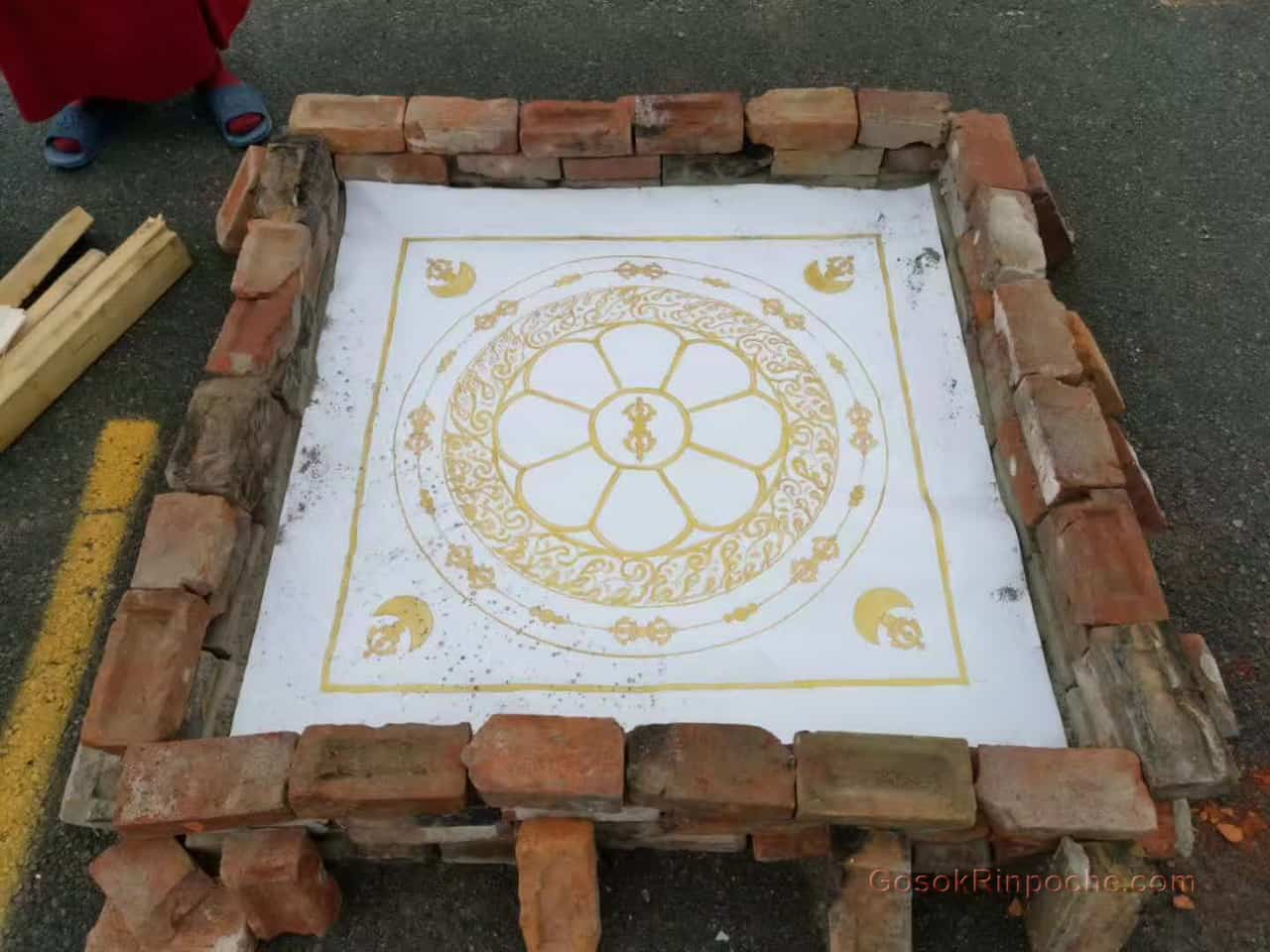 Gosok Rinpoche fire puja 20190924112150