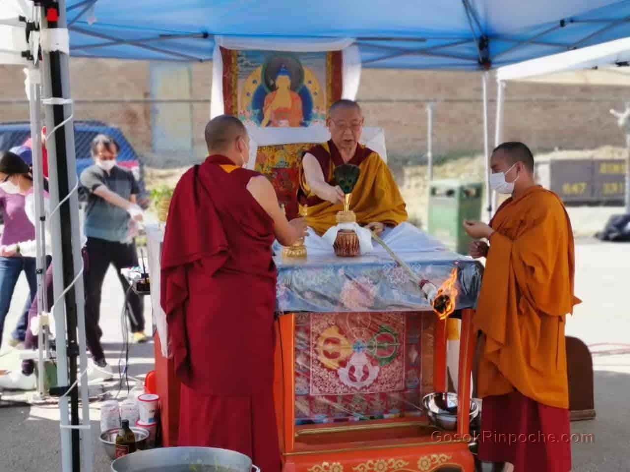 Gosok rinpoche Yamantaka Fire Puja 20190922215955
