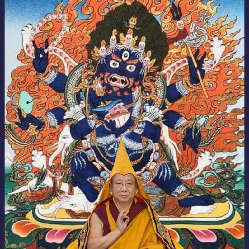 Gosok Rinpoche Makahala